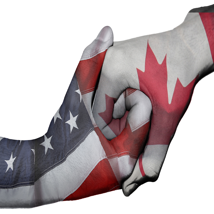 Moving Canada to Usa